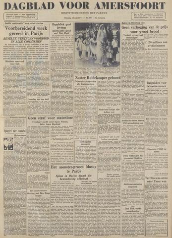 Dagblad voor Amersfoort 1947-07-15