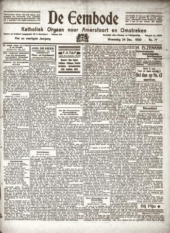 De Eembode 1930-12-24