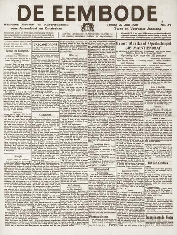 De Eembode 1928-07-27