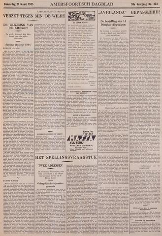 Amersfoortsch Dagblad / De Eemlander 1935-03-21