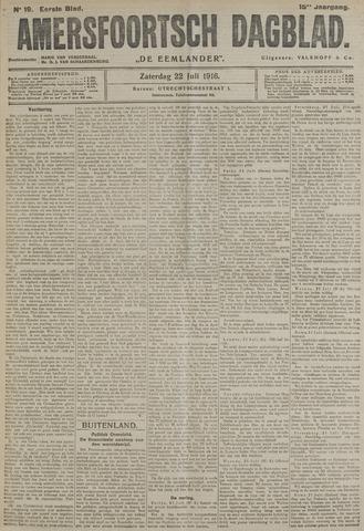 Amersfoortsch Dagblad / De Eemlander 1916-07-22