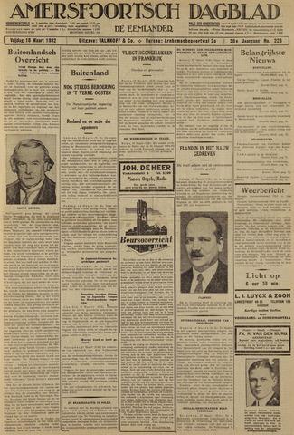 Amersfoortsch Dagblad / De Eemlander 1932-03-18