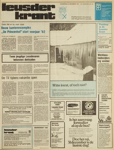 Leusder Krant 1981-12-24