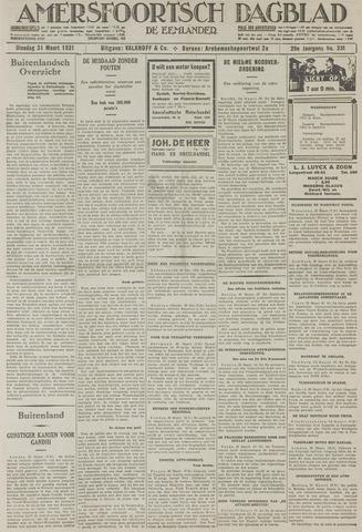Amersfoortsch Dagblad / De Eemlander 1931-03-31