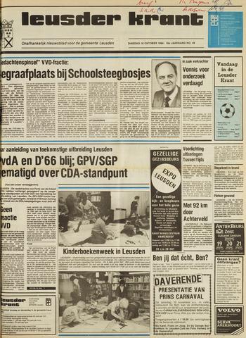 Leusder Krant 1984-10-16