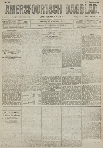 Amersfoortsch Dagblad / De Eemlander 1913-10-10