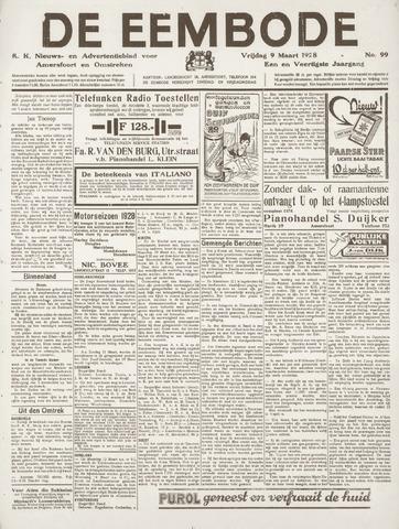 De Eembode 1928-03-09