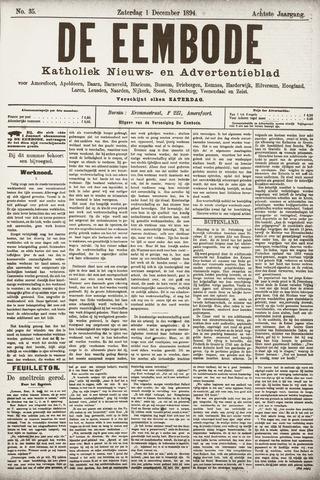 De Eembode 1894-12-01