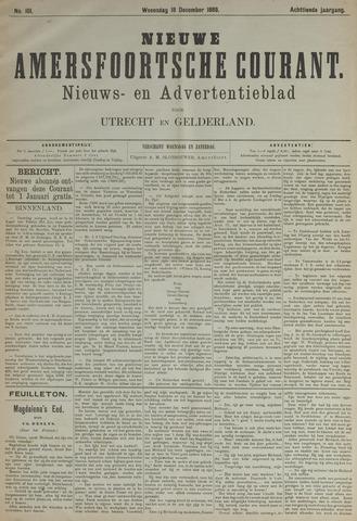 Nieuwe Amersfoortsche Courant 1889-12-18
