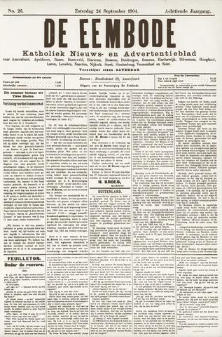 De Eembode 1904-09-24