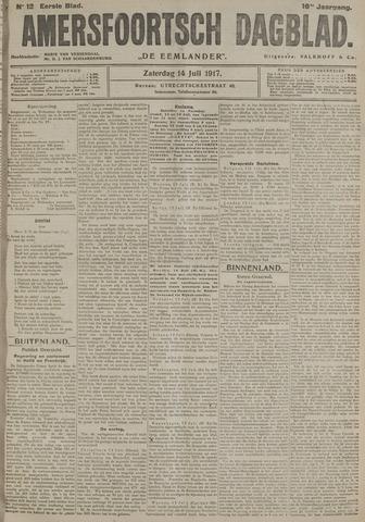 Amersfoortsch Dagblad / De Eemlander 1917-07-14