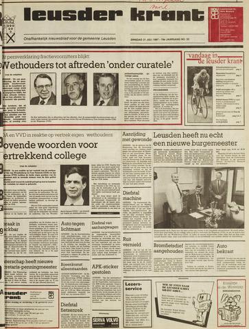 Leusder Krant 1987-07-21