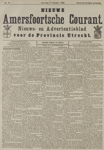 Nieuwe Amersfoortsche Courant 1908-10-17