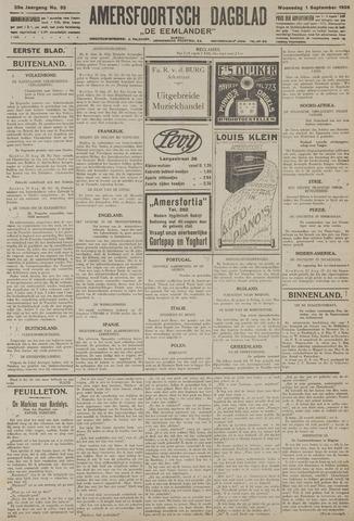 Amersfoortsch Dagblad / De Eemlander 1926-09-01