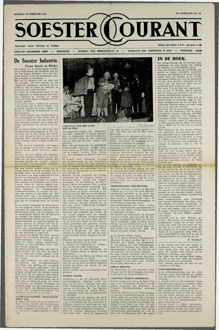 Soester Courant 1952-02-26