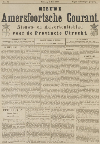 Nieuwe Amersfoortsche Courant 1900-05-05