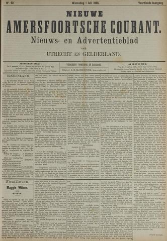 Nieuwe Amersfoortsche Courant 1885-07-01