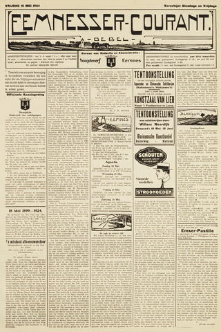 Eemnesser Courant 1924-05-16