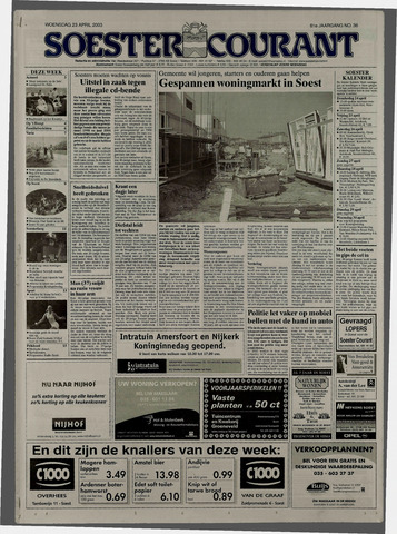 Soester Courant 2003-04-23