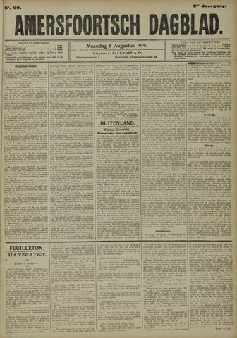 Amersfoortsch Dagblad 1910-08-08