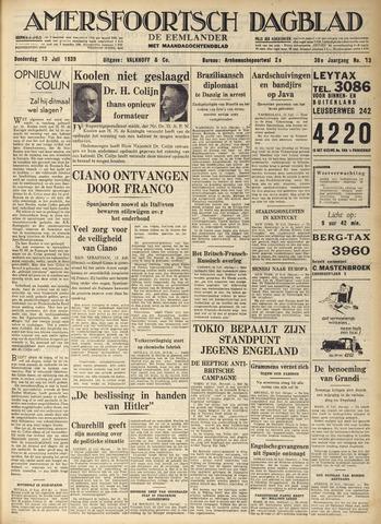 Amersfoortsch Dagblad / De Eemlander 1939-07-13