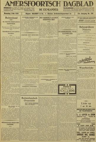 Amersfoortsch Dagblad / De Eemlander 1934-05-02