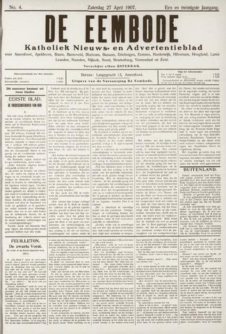 De Eembode 1907-04-27
