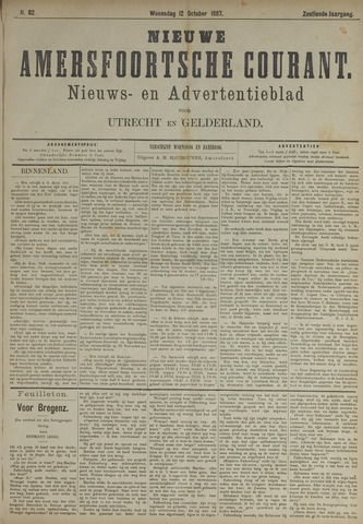 Nieuwe Amersfoortsche Courant 1887-10-12