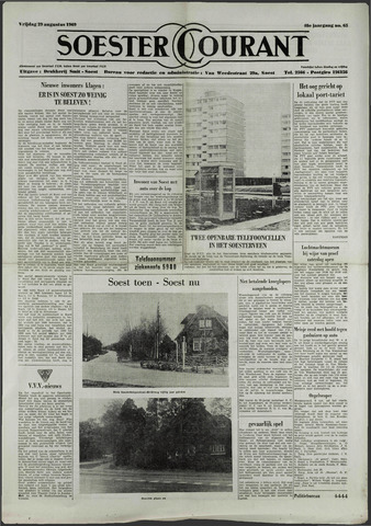 Soester Courant 1969-08-29