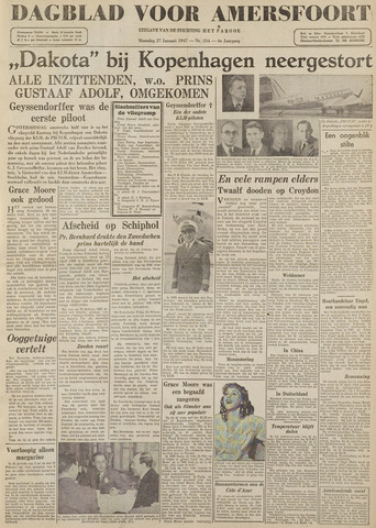 Dagblad voor Amersfoort 1947-01-27