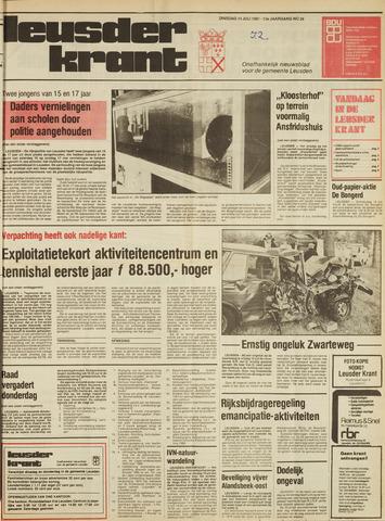 Leusder Krant 1981-07-14