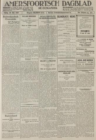 Amersfoortsch Dagblad / De Eemlander 1931-05-29