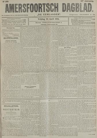 Amersfoortsch Dagblad / De Eemlander 1915-04-23