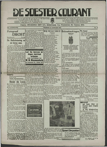Soester Courant 1941-01-10