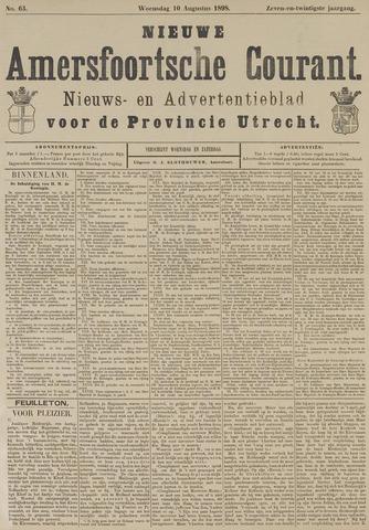 Nieuwe Amersfoortsche Courant 1898-08-10