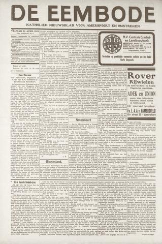 De Eembode 1920-04-30