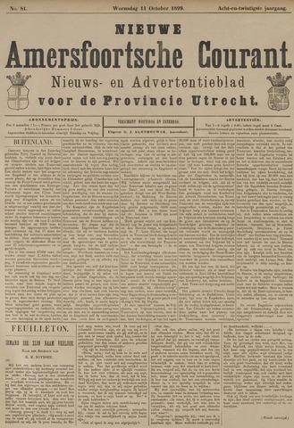 Nieuwe Amersfoortsche Courant 1899-10-11
