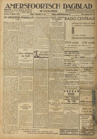 Amersfoortsch Dagblad / De Eemlander 1935-10-19