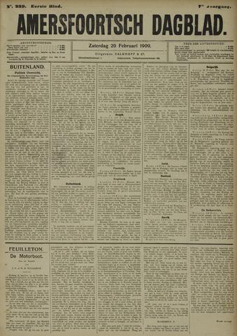 Amersfoortsch Dagblad 1909-02-20
