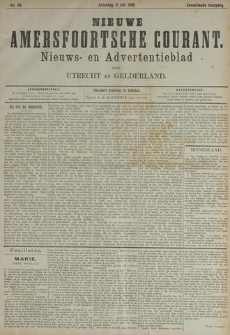 Nieuwe Amersfoortsche Courant 1888-07-21