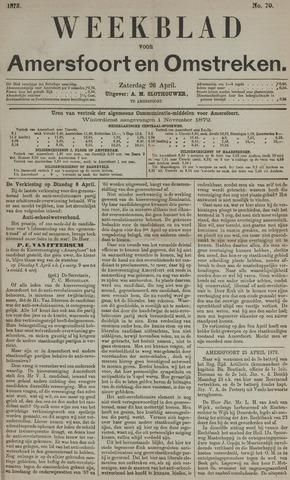 Weekblad voor Amersfoort en Omstreken 1873-04-26