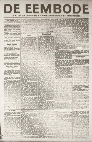 De Eembode 1920-11-23