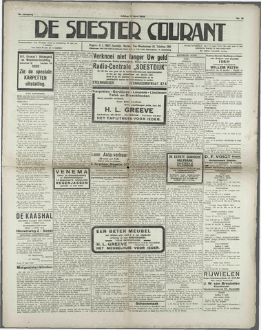 Soester Courant 1929-04-19