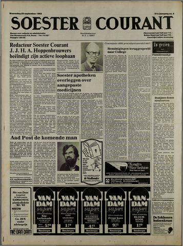 Soester Courant 1982-09-29