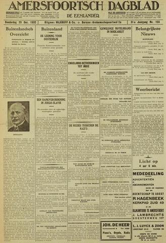 Amersfoortsch Dagblad / De Eemlander 1932-12-29