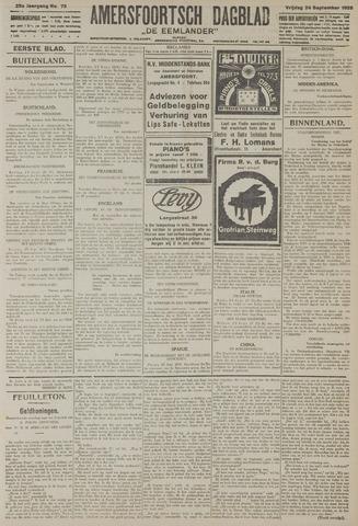 Amersfoortsch Dagblad / De Eemlander 1926-09-24