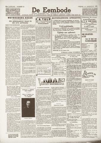 De Eembode 1939-08-25