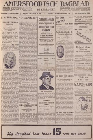 Amersfoortsch Dagblad / De Eemlander 1935-02-28