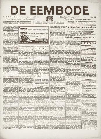 De Eembode 1929-01-29