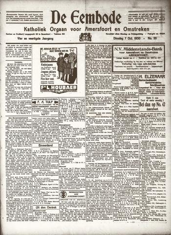De Eembode 1930-10-07